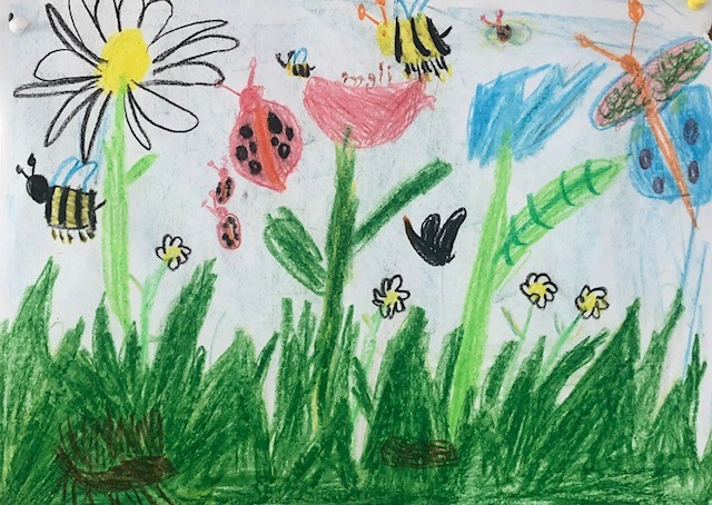 Kunstunterricht Klasse 2a